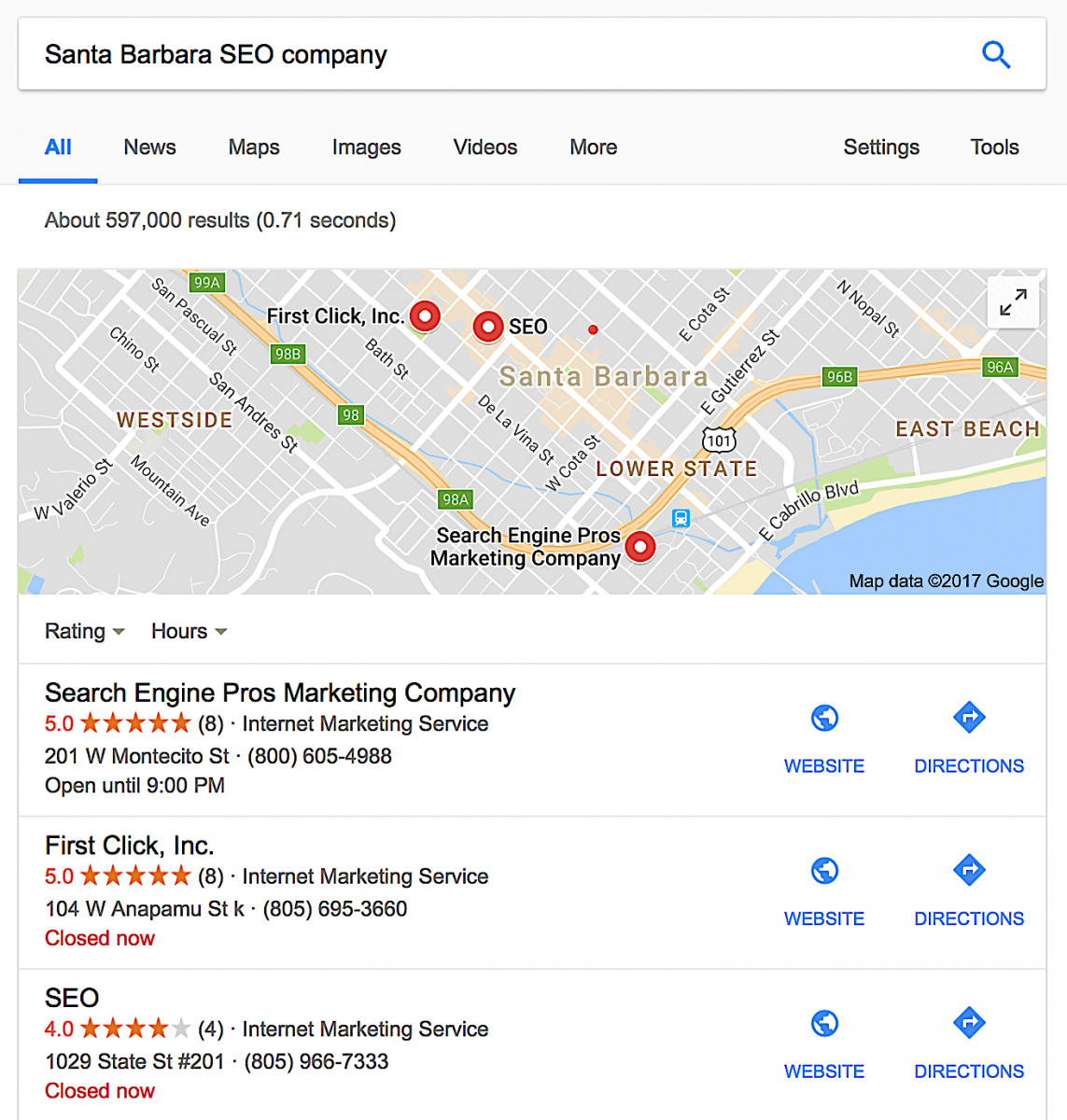 Bakersfield SEO Companies, SEO Marketing Bakersfield CA, Acme Web Agency